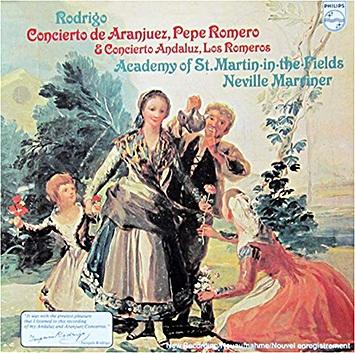 Rodrigo, Concierto de Aranjuez, Neville Marriner, Philips