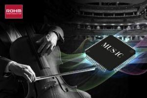 ROHMs weiterentwickelter DAC-Chip der MUS-IC™-Serie ermöglicht ausdrucksstarke Wiedergabe klassischer Musik