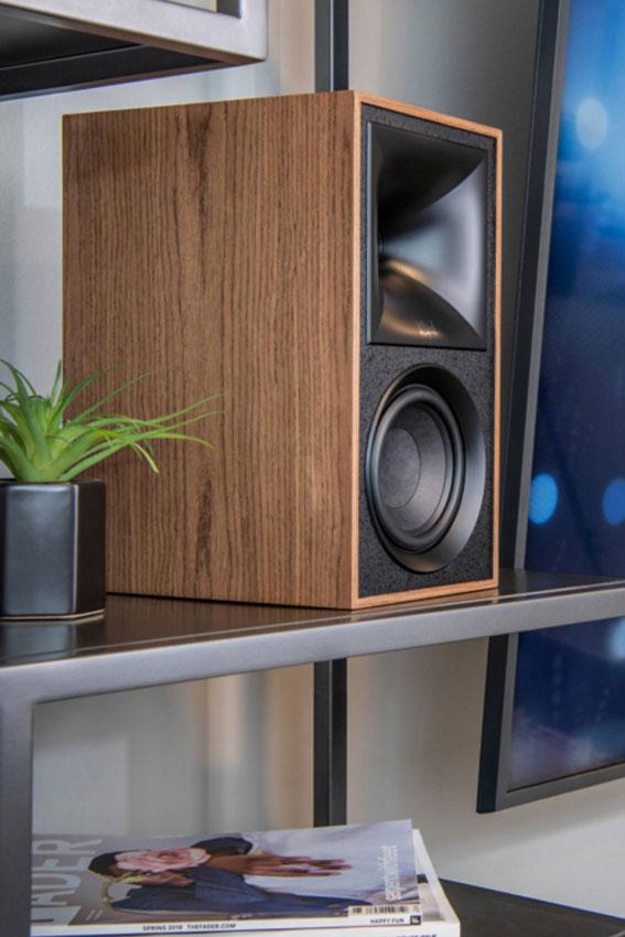 Klipsch The Fives Powered Monitors Active Wireless Speaker 10