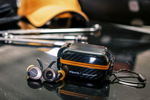 Klipsch T5 II True Wireless Sport Earphone McLaren Edition 04