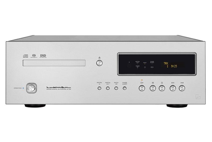 Luxman D 10X Super Audio CD Player 04