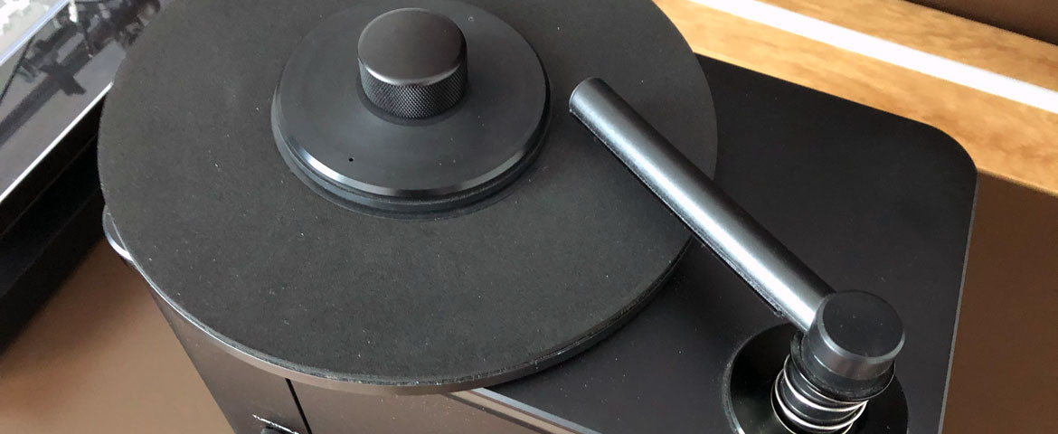 Watson´s Record Cleaning Machine