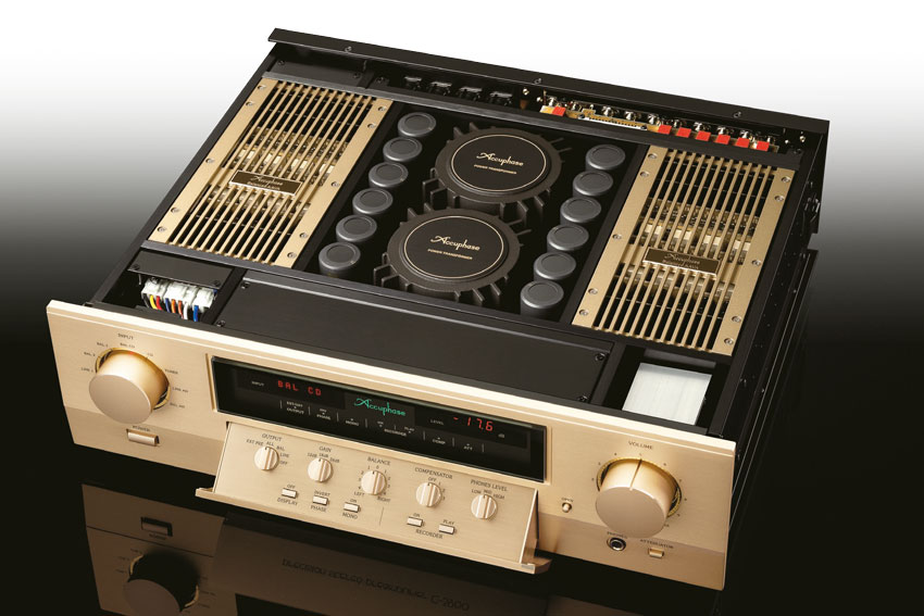 Accuphase C 3900 Precision Stereo Preamplifier 04