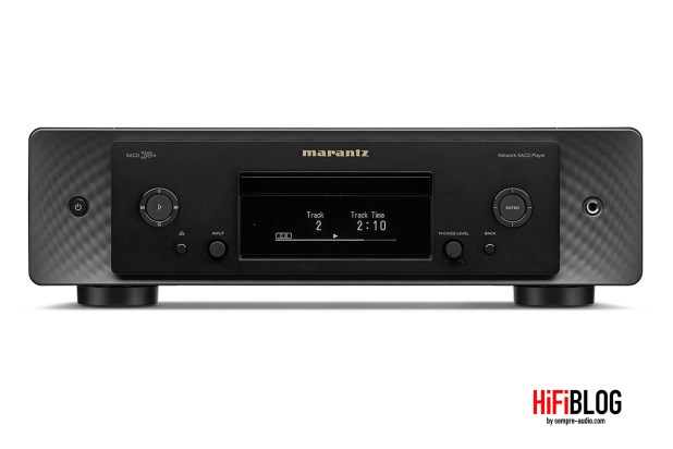 Marantz Model 30 Integrated Amplifier and SACD 30n Network SACD Player 45