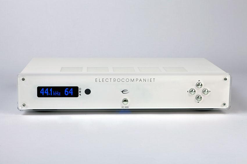 Electrocompaniet ECI 80D Integrated Amplifier White Silver 01