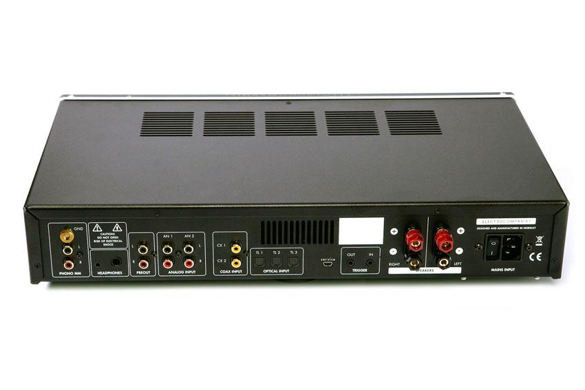 Electrocompaniet ECI 80D Integrated Amplifier White Silver 05