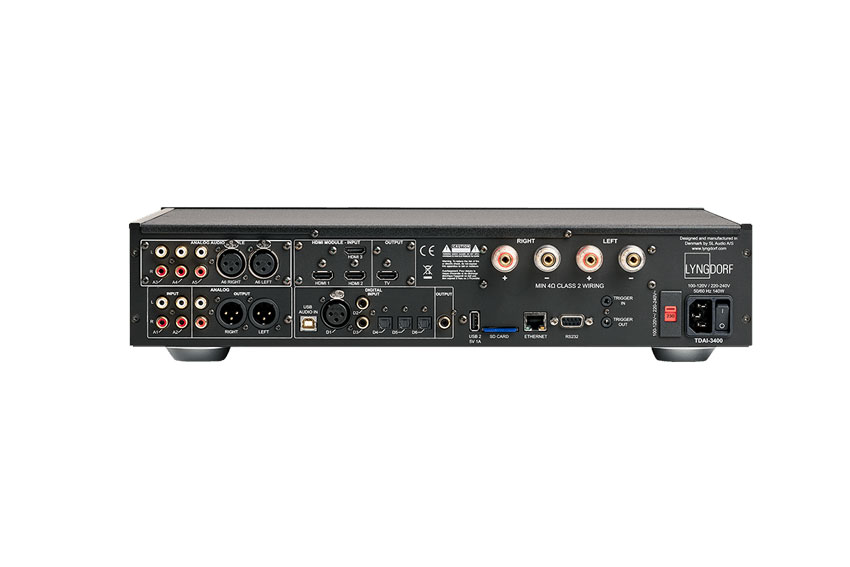 Lyngdorf TDAI 3400 Amplifier mit TIDAL Connect Support 04