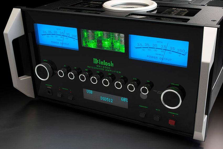McIntosh MA12000 2 Channel Hybrid Integrated Amplifier 05