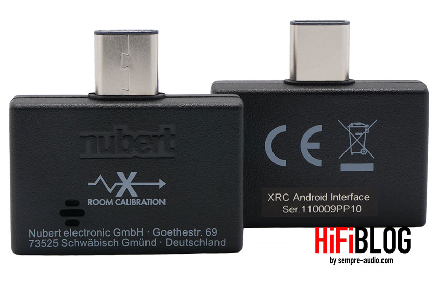 Nubert XRC Android Interface 01