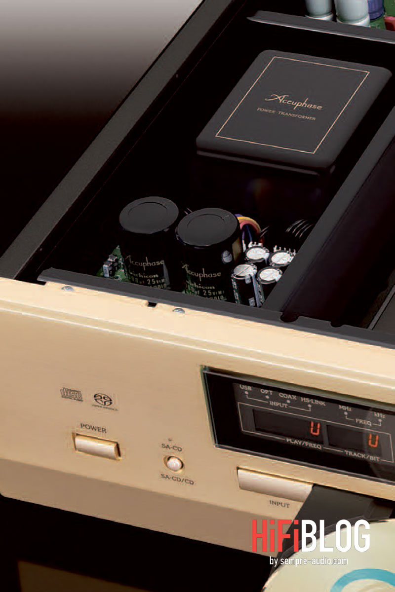 Accuphase DP 570 MDS Super Audio CD Player 03