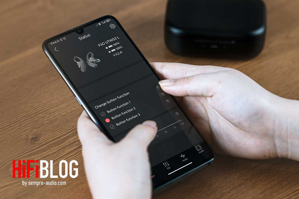 FiiO UTWS3 True Wireless Bluetooth Amplifier 11