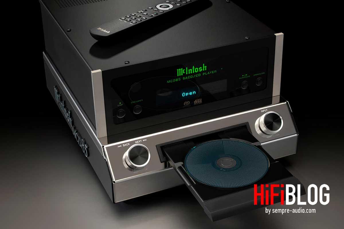 McIntosh MCD85 2 Channel SACD CD Player 02
