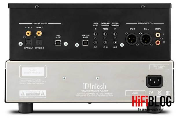 McIntosh MCD85 2 Channel SACD CD Player 09