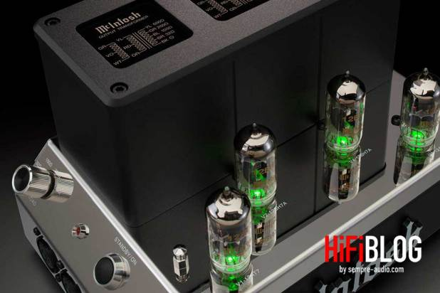 McIntosh MHA200 2 Channel Vacuum Tube Headphone Amplifier 01