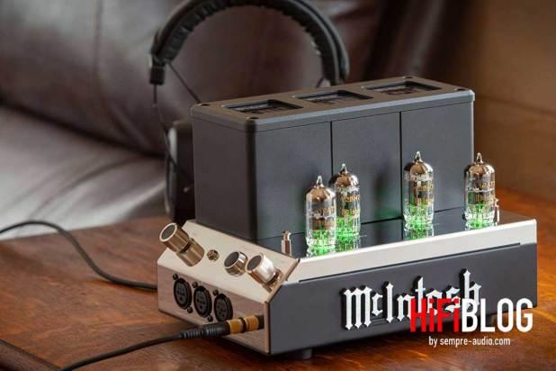 McIntosh MHA200 2 Channel Vacuum Tube Headphone Amplifier 03