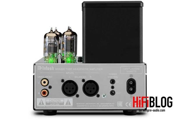 McIntosh MHA200 2 Channel Vacuum Tube Headphone Amplifier 10