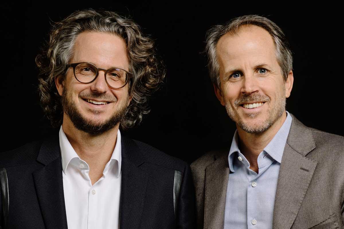 Sennheiser Co CEOs Daniel und DrAndreas Sennheiser