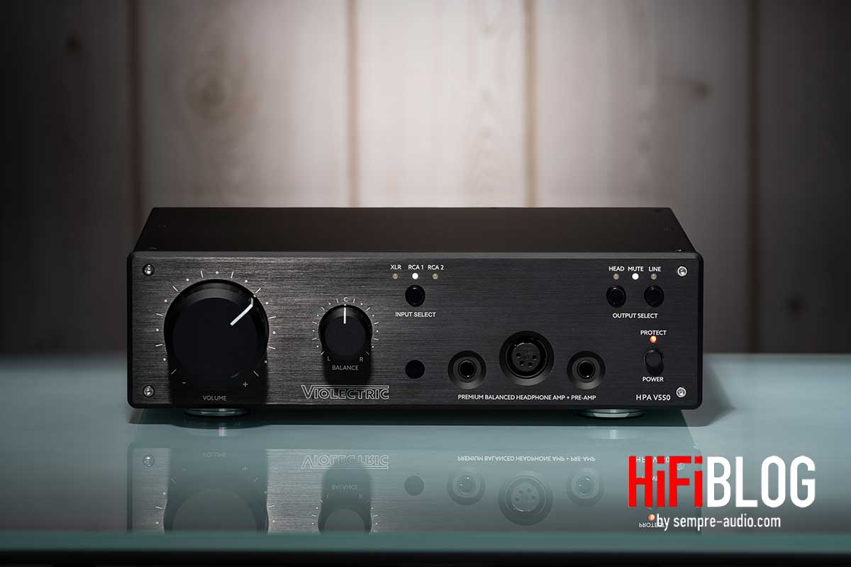 Violectric HPA V550 Premium Balanced Headphone Amp and Preamp 01