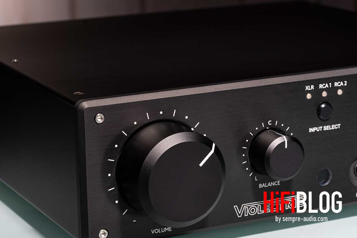 Violectric HPA V550 Premium Balanced Headphone Amp and Preamp 09