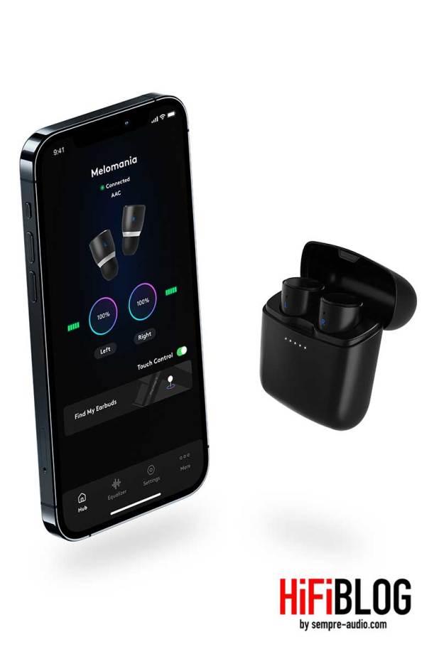 Cambridge Audio Melomania 1plus True Wireless In ear Headphones 13