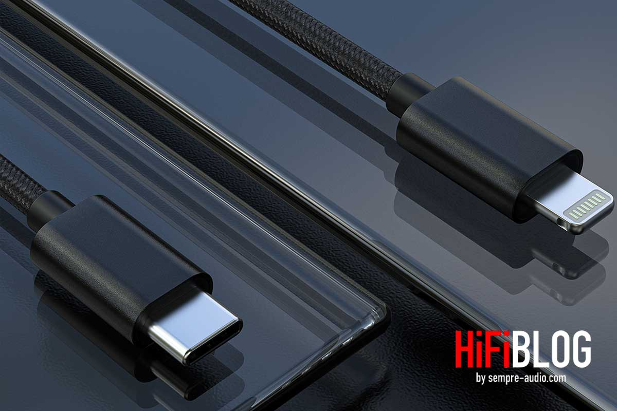 FiiO LT LT1 USB Type C to Lightning Data Cable 03