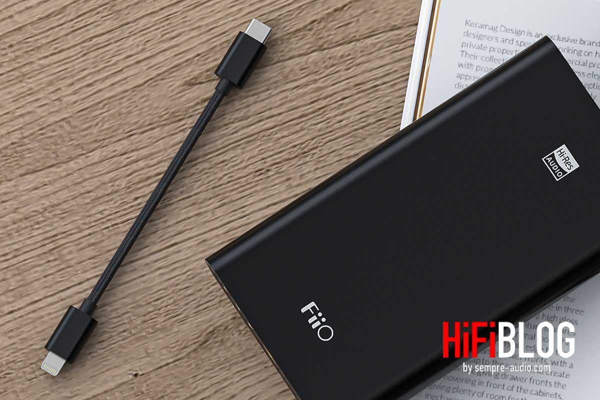 FiiO LT LT1 USB Type C to Lightning Data Cable 06
