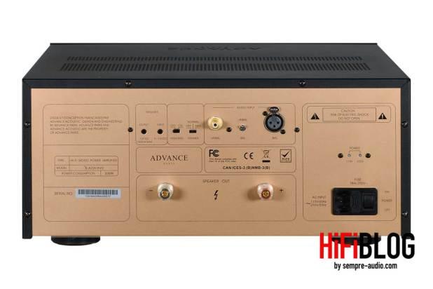 Advance Paris X A220 EVO HiFi Mono Power Amplifier 02