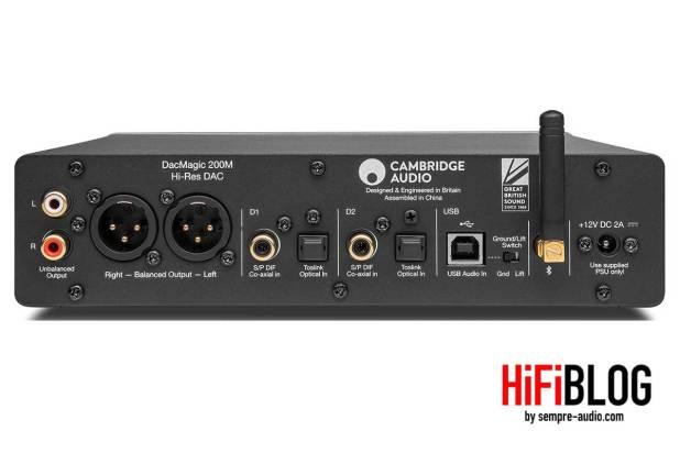 Cambridge Audio DacMagic 200M Hi Res DAC 12