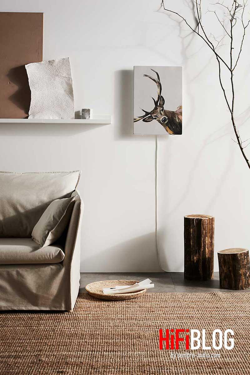 Ikea SYMFONISK Rahmen mit WiFi Speaker 04