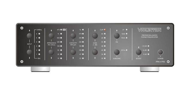 Violectric PPA V790 Premium Balanced Phono Preamplifier