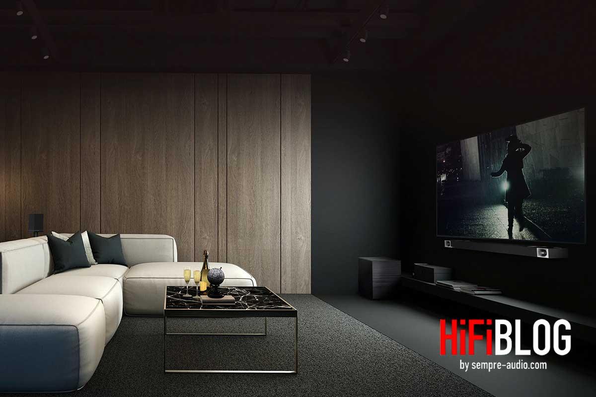 Klipsch Cinema 1200 Dolby Atmos 5 1 4 Sound Bar 01