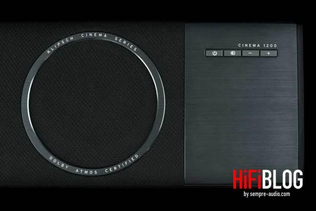 Klipsch Cinema 1200 Dolby Atmos 5 1 4 Sound Bar 09