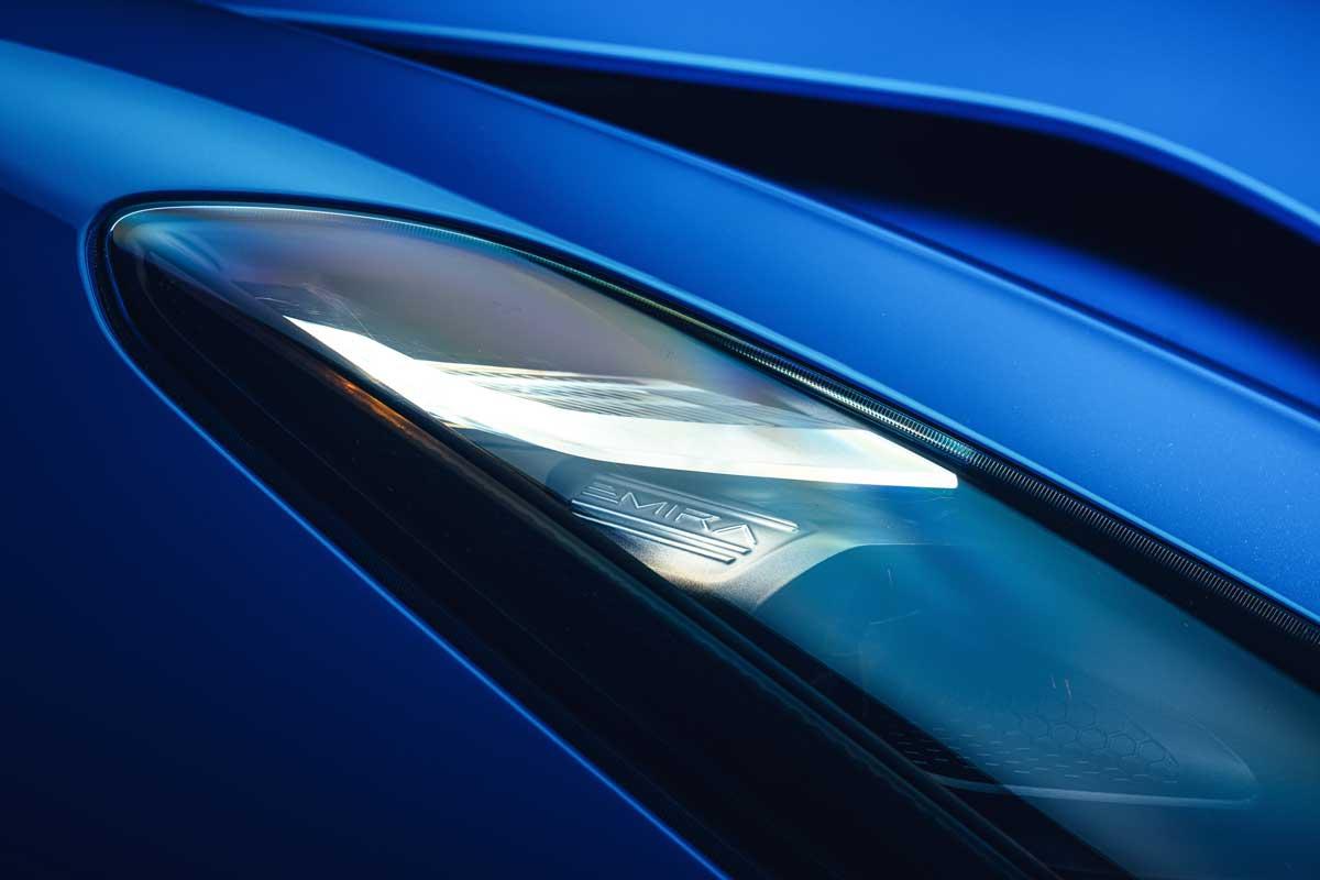 Lotus Emira KEF Premium Audio System KEF Uni Q Chassis 05