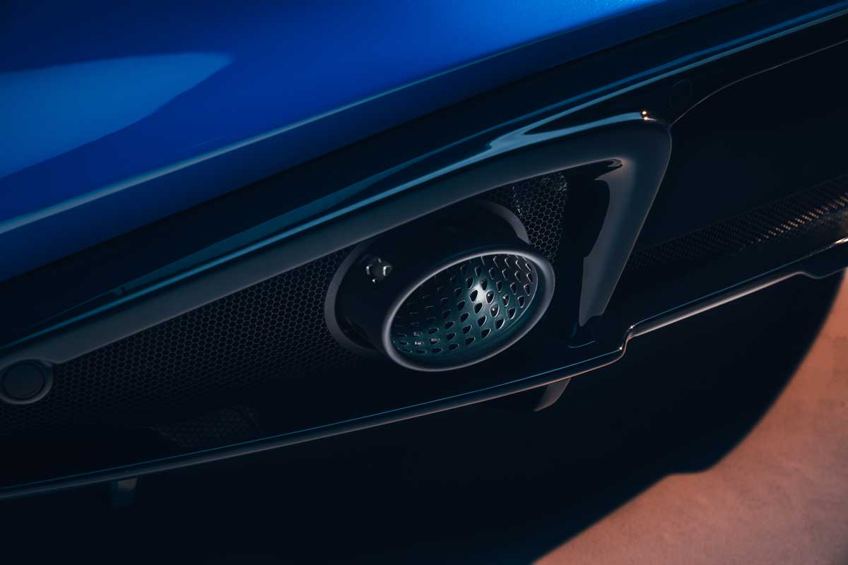 Lotus Emira KEF Premium Audio System KEF Uni Q Chassis 12