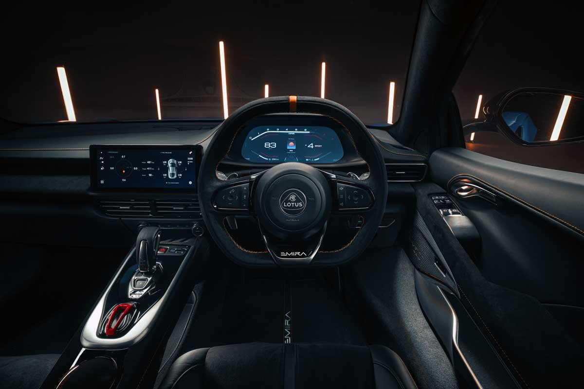 Lotus Emira KEF Premium Audio System KEF Uni Q Chassis 16