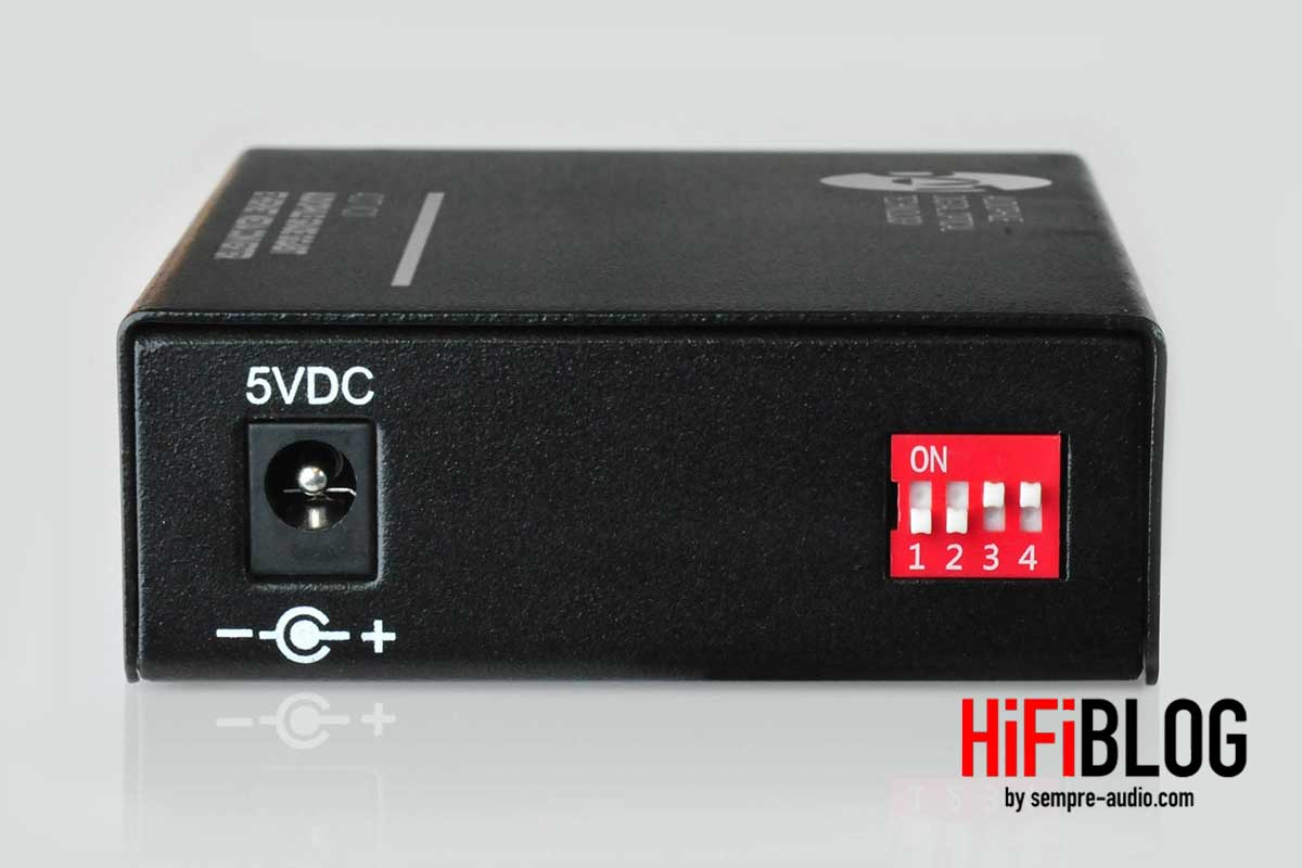 ADOT MC01 Audiophile Grade Gigabit Ethernet Media Converter 02