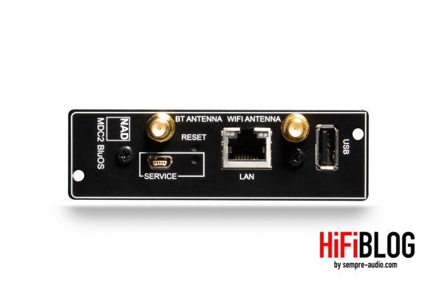 Foto © NAD Electronics International   NAD MDC2 BluOS-D Module