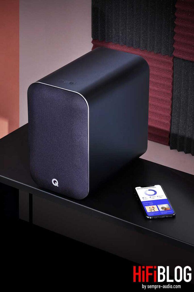Foto © Q Acoustics - Q Acoustics M20 HD Wireless Music System