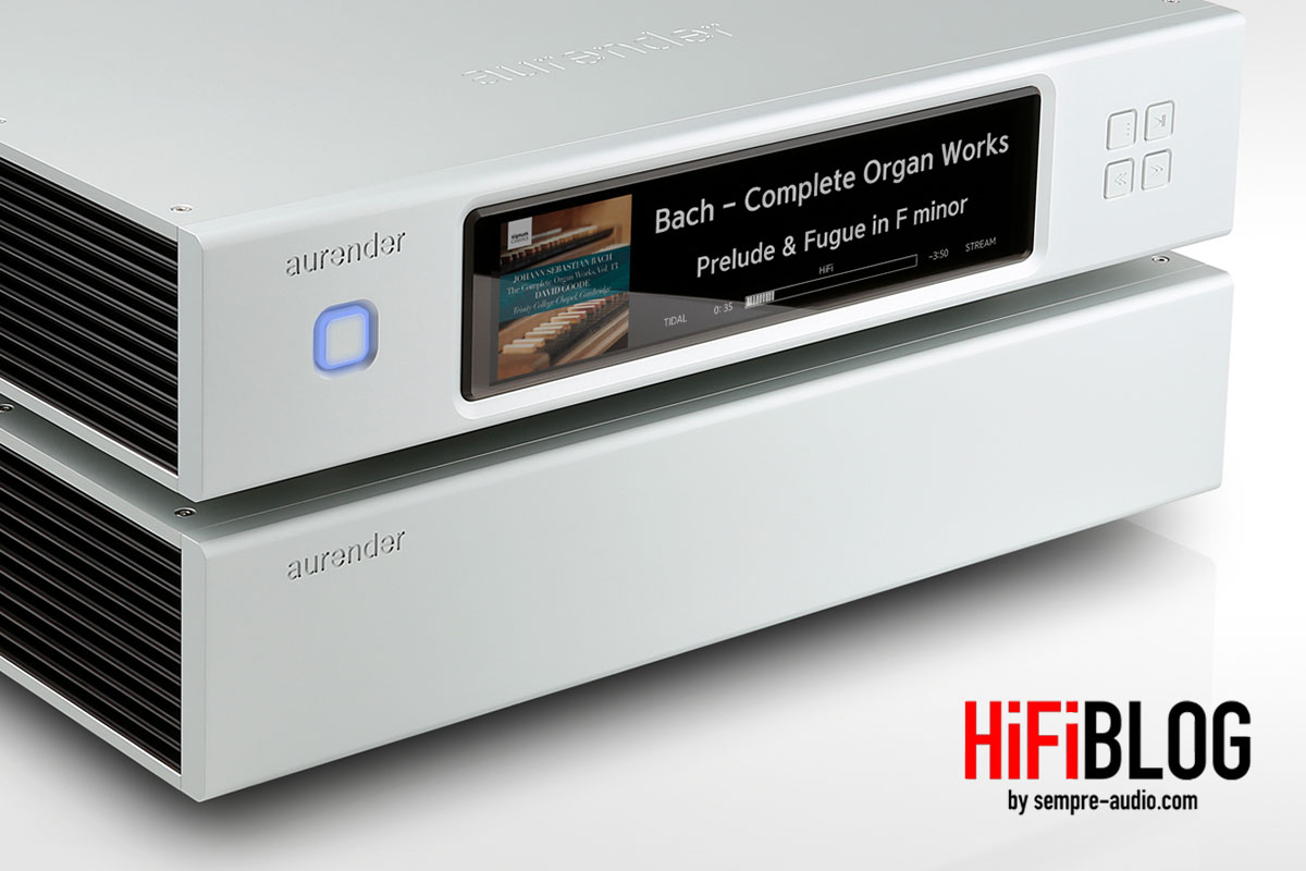Foto © Aurender Inc.   Aurender N30SA High Definition Caching Music Server and Streamer