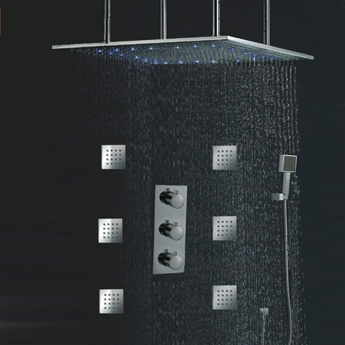 Rainfall Ceiling Shower Head Review