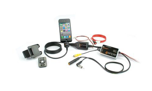 iSimple IS77PRO Tranzlt Pro iPod or iPhone Car Stereo FM