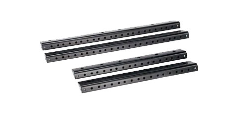 Odyssey Cases ARR08 8U Pair of Accessory Pre-Tapped Rails