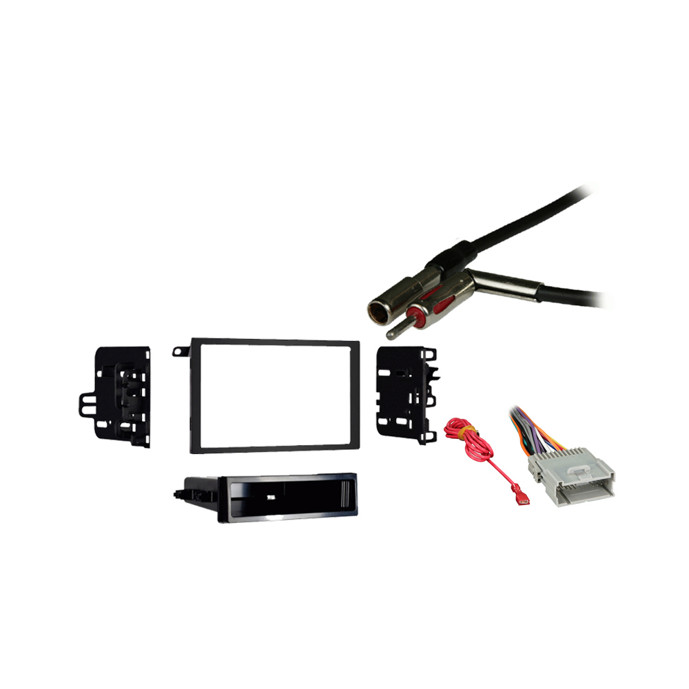 Chevy Express Van 2001 2002 Double DIN Stereo Harness