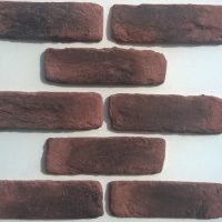 Red Brick Cladding UK - Red Brick Cladding - Loft Living Brick Slips - Rustic Brick Cladding