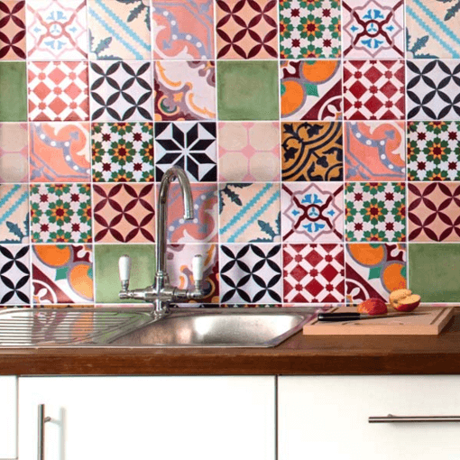 Alternative To Kitchen Wall Tiles: A Great Wall Tiling Alternative