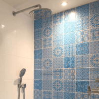 Designer Tile Splash Backs - Designer Splashback Panels - Designer Splash Back Panels - Moulded Tile Wall Panels