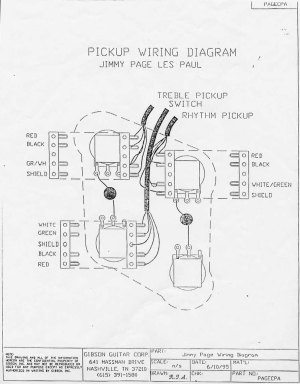 Higgs Communications  Jimmy Page Les Paul Wiring Diagram