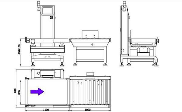 WS-N500 Check Weigher-High Accuracy Fi Company