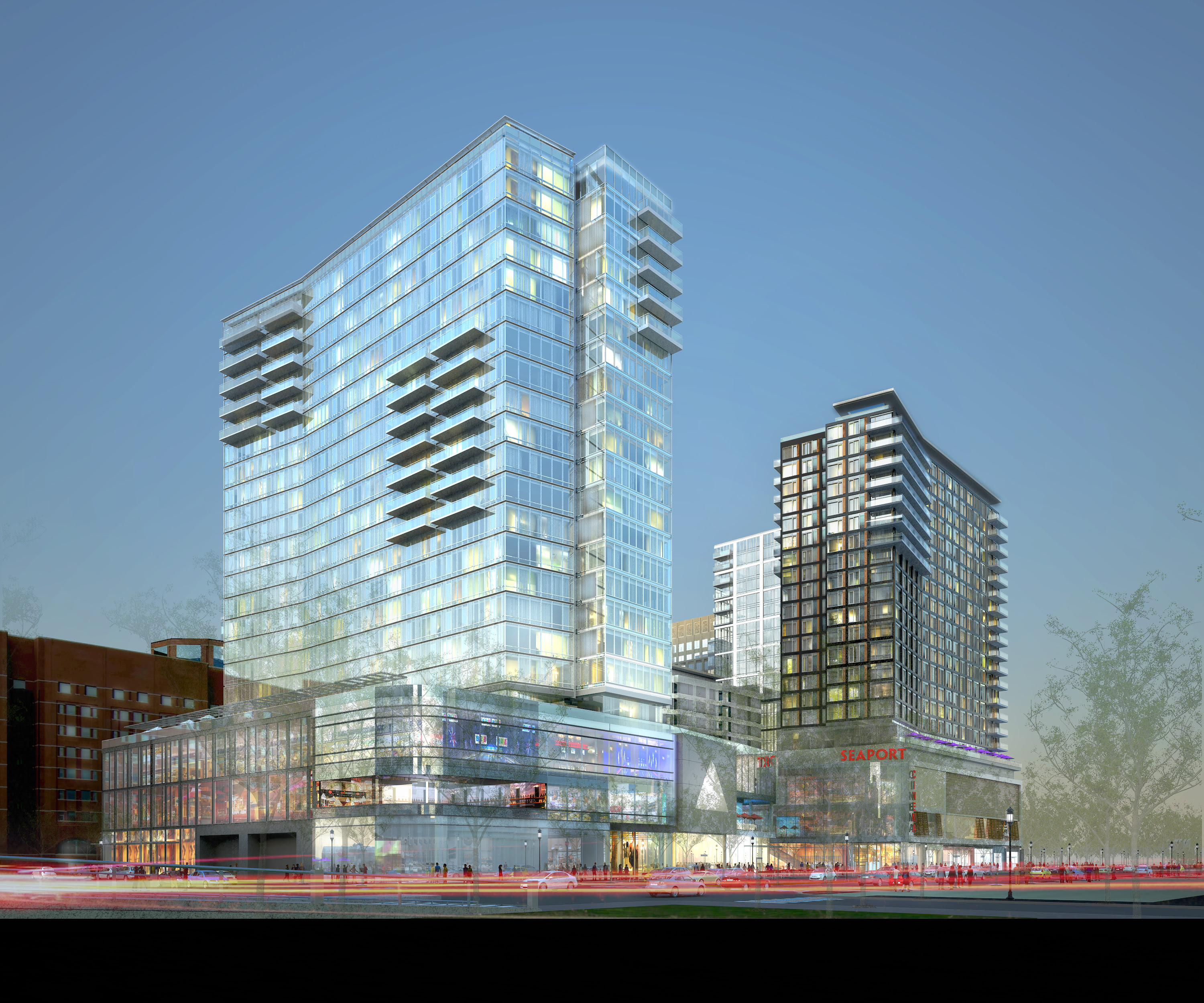 """South Boston Waterfront Continues to Grow, """"Watermark Seaport"""" To ..."""