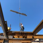 Daniel Marr & Son Install Steel at BCH